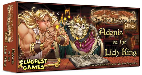 Red Dragon Inn: Allies - Adonis vs. the Lich King (Expansion)
