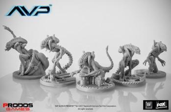 Alien vs Predator (AVP): Alien Warriors UniCast