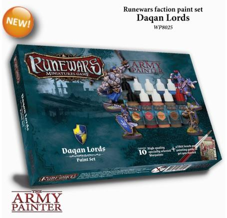 Warpaints: Runewars - Daqan Lords paint set