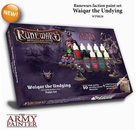 Warpaints: Runewars - Waiqar Undying paint set