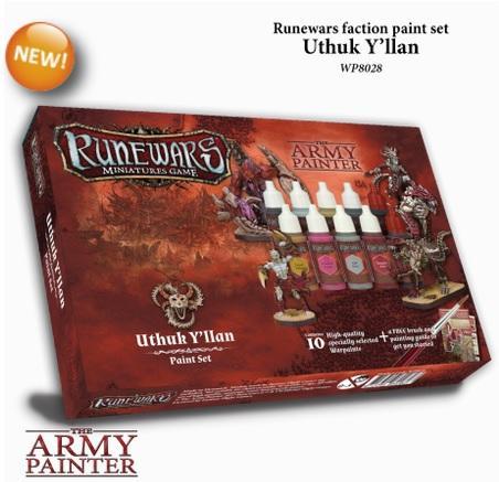 Warpaints: Runewars - Uthuk Y'llan paint set
