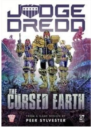 [Osprey Games] Judge Dredd - The Cursed Earth An Expedition Game