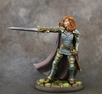 Visions In Fantasy: Female Cavalier with Long Sword
