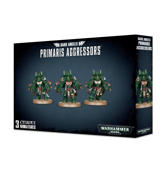 Warhammer 40K: Dark Angels Primaris Aggressors