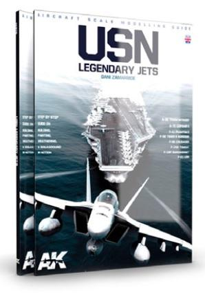AK-Interactive: USN LEGENDARY JETS