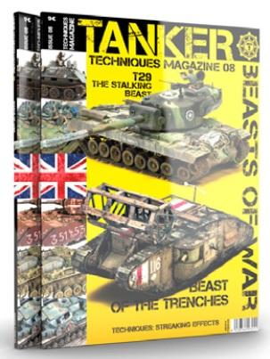 AK-Interactive: TANKER MAGAZINE 08: Beasts of War