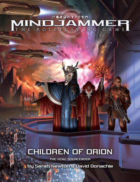 Mindjammer RPG: Children of Orion – The Venu