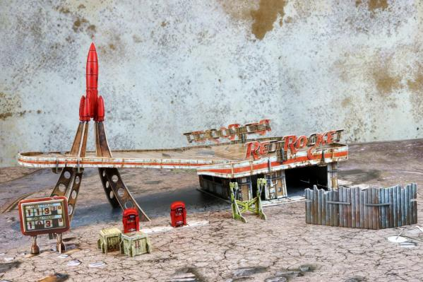 Fallout: Wasteland Warfare - Red Rocket Scenic Set