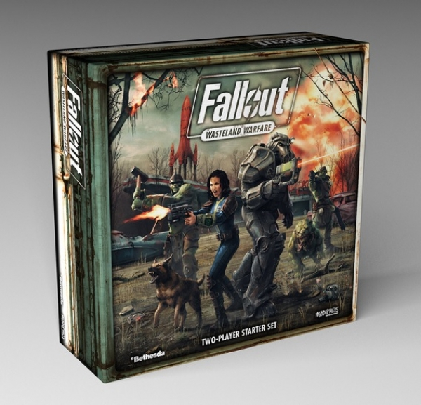 Fallout: Wasteland Warfare - Two Player Starter Game (plus Promo Offer)