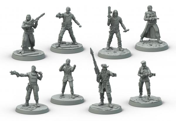 Fallout: Wasteland Warfare - Survivors Core
