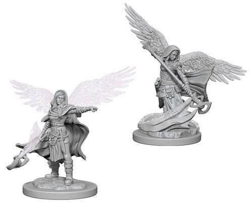 D&D Nolzurs Marvelous Unpainted Minis: Aasimar Female Wizard