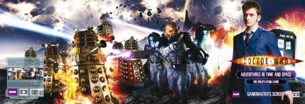 Doctor Who RPG: Gamemasters Screen