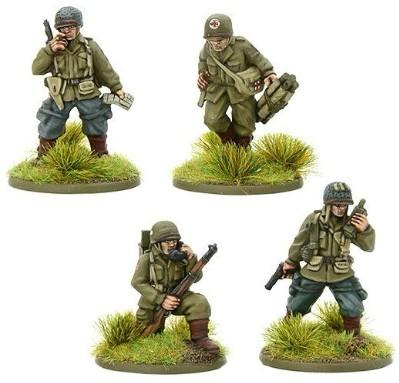 Bolt Action, 2nd Edition: US Airborne HQ (1944-45) (4)