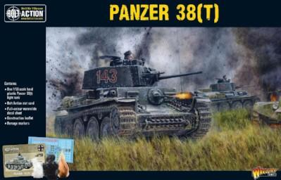 Bolt Action, 2nd Edition: Panzer 38(t)