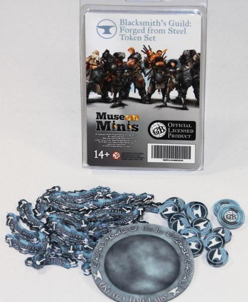 GuildBall: (Accessories) Blacksmiths-  Forged From Steel Tokens