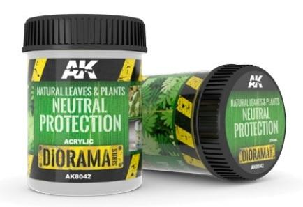 AK-Interactive: Natural Leaves & Plants Neutral Protection - 250ml