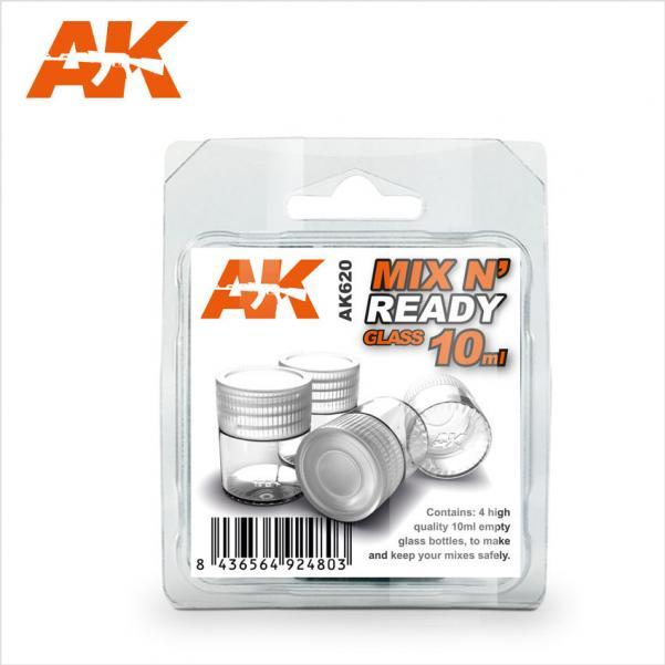 AK-Interactive: (Accessory) MIX N'  READY GLASS 10ML