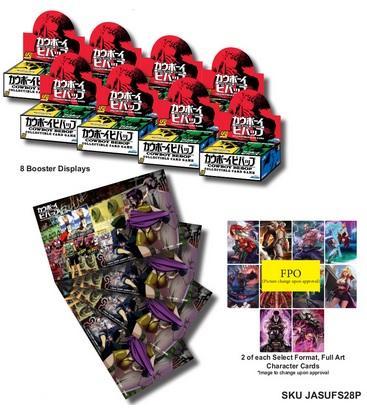 UFS CCG: Cowboy Bebop CCG Pre-Release Kit [Retail Only]