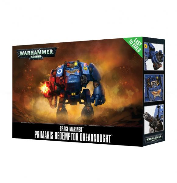 WH40K: Space Marines Primaris Redemptor Dreadnought (Easy to Build)