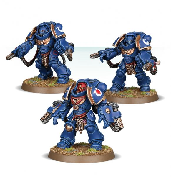 WH40K: Space Marines Primaris Aggressors (Easy to Build)