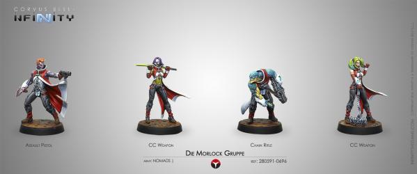 Infinity (#696) Nomads: Die Morlock Gruppe (4)