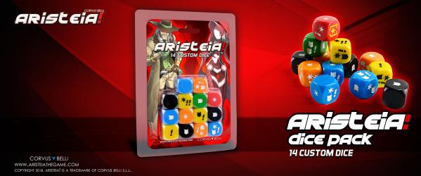 Aristeia!: Dice Pack (14)