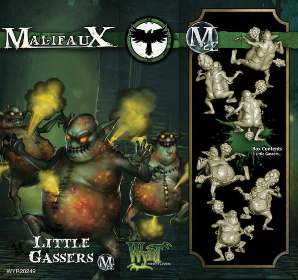 Malifaux: (Resurrectionists) Little Gassers