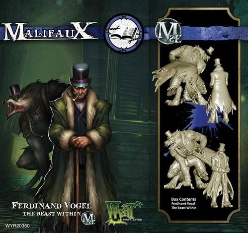 Malifaux: (The Arcanists) The Beast Within & Ferdinand Vogel