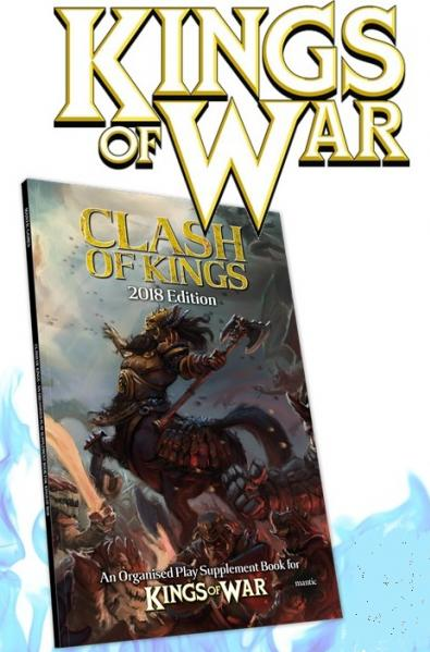 Kings Of War: Clash of Kings 2018 Supplement