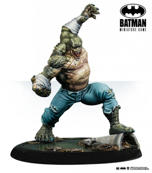 Batman Miniature Game: Killer Croc (2nd Edition) (Resin)