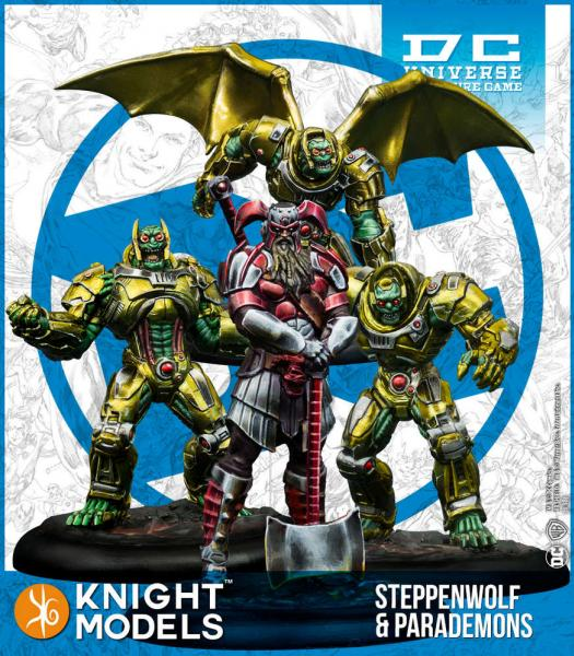 Knight Models DC Universe: Steppenwolf & Parademons (resin)