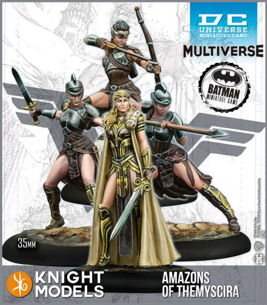 Knight Models DC Universe: Amazons of Themyscira (Multiverse) (Resin)