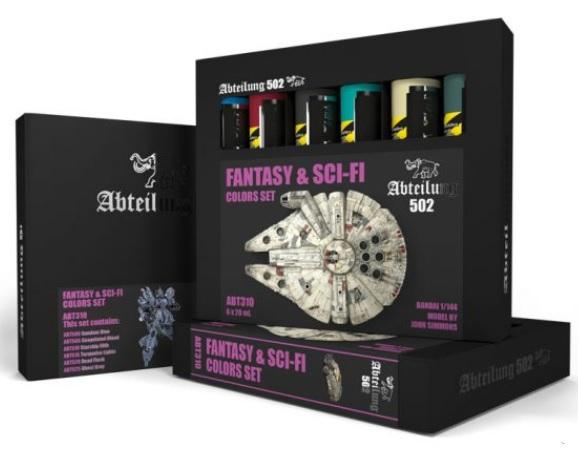 AK-Interactive: Abteilung 502 Fantasy & Sci-fi Colors Set