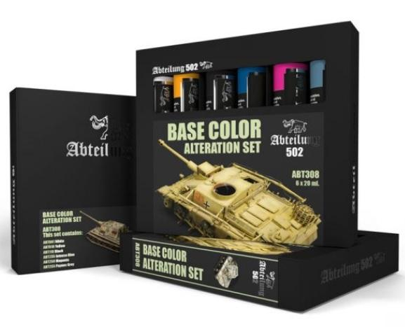 AK-Interactive: Abteilung 502 Base Color Alteration Set