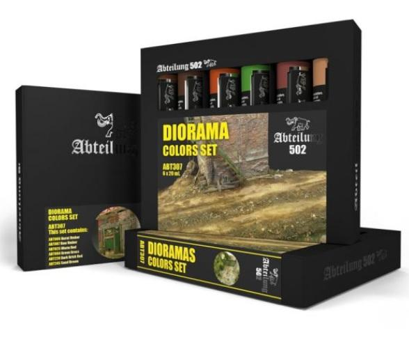 AK-Interactive: Abteilung 502 Diorama Colors Set
