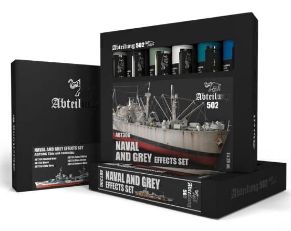 Abteilung 502: Naval and Grey Effects Set