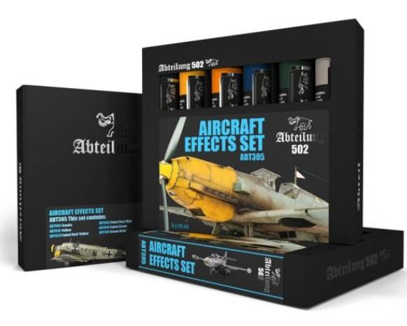 AK-Interactive: Abteilung 502 Aircraft Effects Set