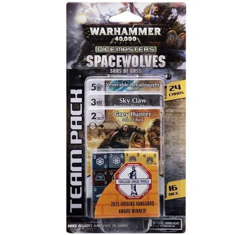Dicemasters: Warhammer 40,000 Space Wolves Sons of Russ Team Pack