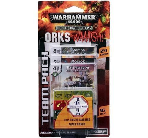 Dicemasters: Warhammer 40,000 Orks WAAAGH! Team Pack
