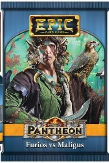 Epic Card Game: Pantheon - Furios vs Maligus (1 random sealed booster pack)