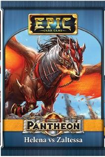 Epic Card Game: Pantheon - Helena vs Zaltessa(1 random sealed booster pack)