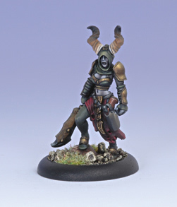 Iron Kingdoms Miniatures: Jhureen Hecatha, Satyxis Raider