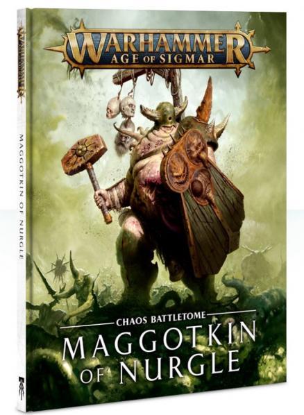 Warhammer 40K: MAGGOTKIN OF NURGLE BATTLETOME(HC)