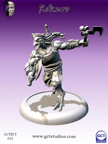Bushido Miniatures: (Cult Of Yurei) Rokuro