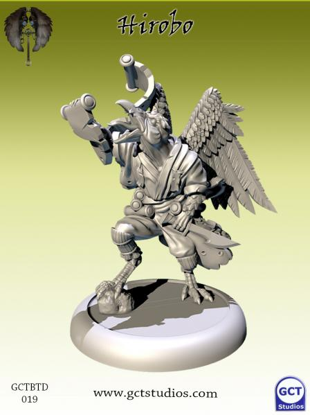 Bushido Miniatures: (Tengu Descension) Hirobo