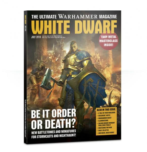White Dwarf Magazine JULY 2018