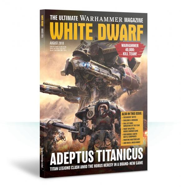 White Dwarf Magazine AUGUST 2018