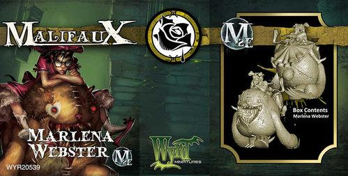 Malifaux: (The Outcasts) Marlena Webster