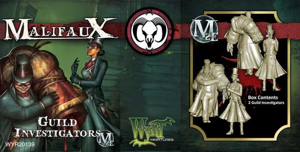 Malifaux: (The Guild) Guild Investigators
