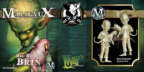 Malifaux: (The Gremlins) Big Brain Brin